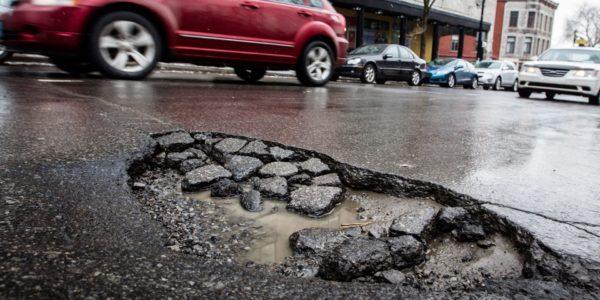 взыскание ущерба по дорожному покрытию